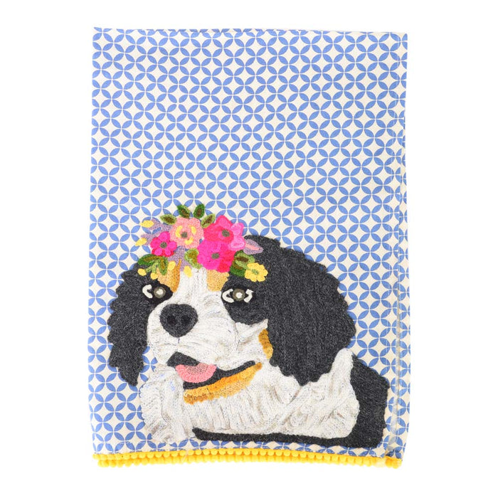 KARMA LIVING | Barkley Dog Tea Towel