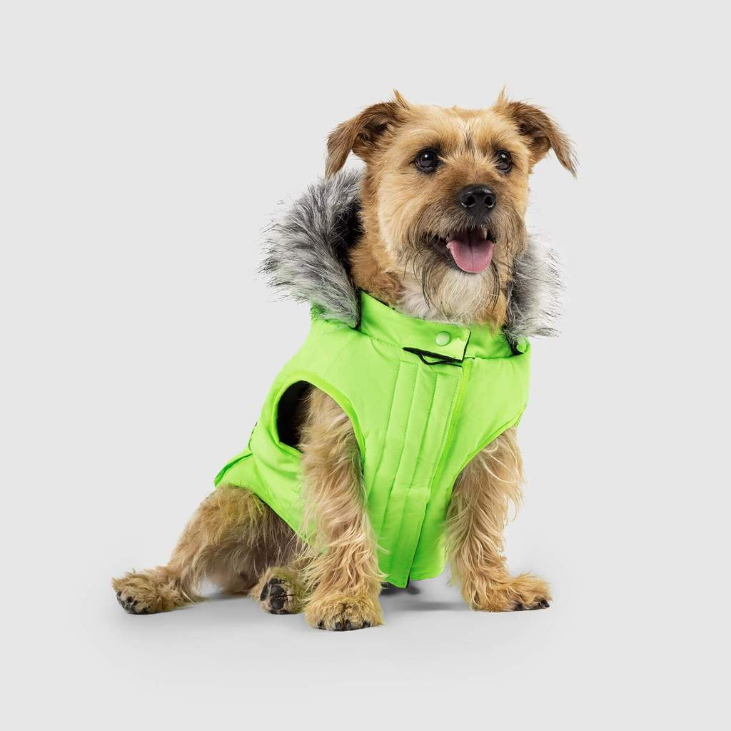 Everest Explorer Vest in Neon Green (FINAL SALE)