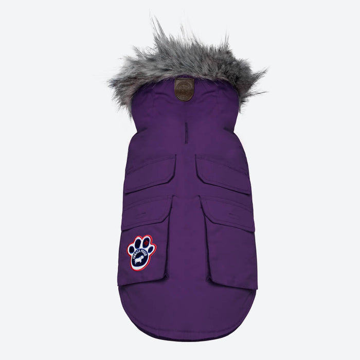 CANADA POOCH | Everest Explorer Vest in Plum (BIG DOG SALE)