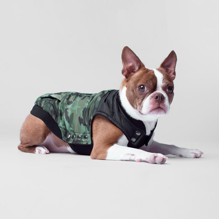 CANADA POOCH | Summit Stretch Vest in Camo