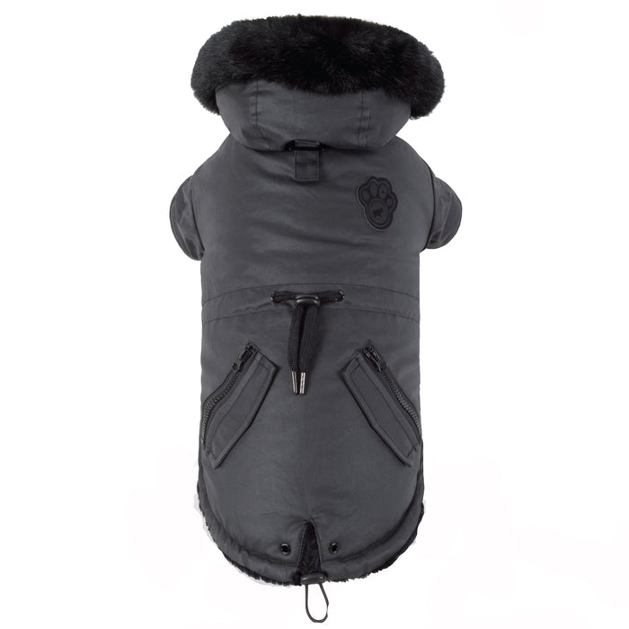 CANADA POOCH | Urban Wax Parka in Black (Dog & Co. Exclusive)