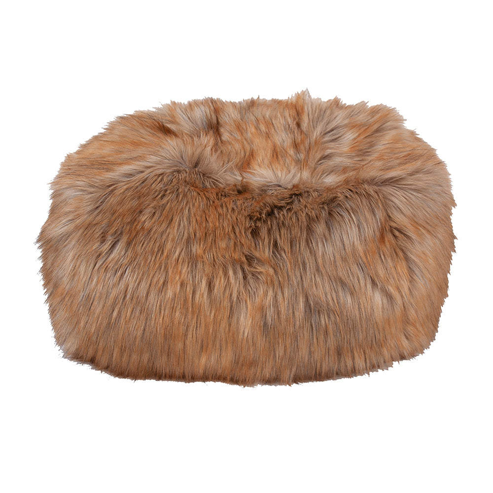 Cheeky Pouf in Faux Fur (Custom/Drop-Ship)