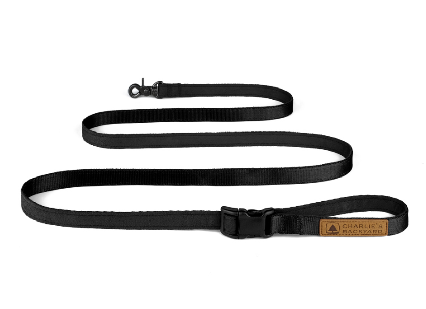 Easy Leash in Black (Immediate Ship)