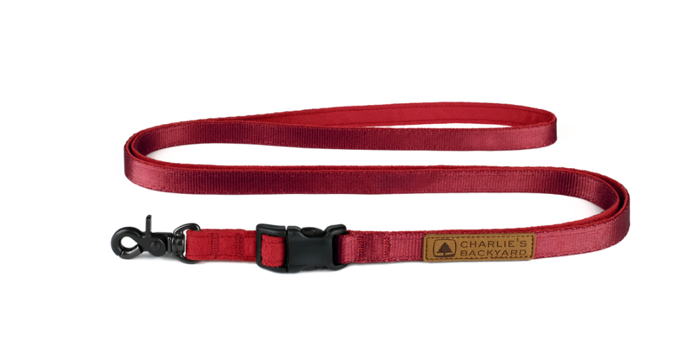 Easy Leash in Red (Immediate Ship)