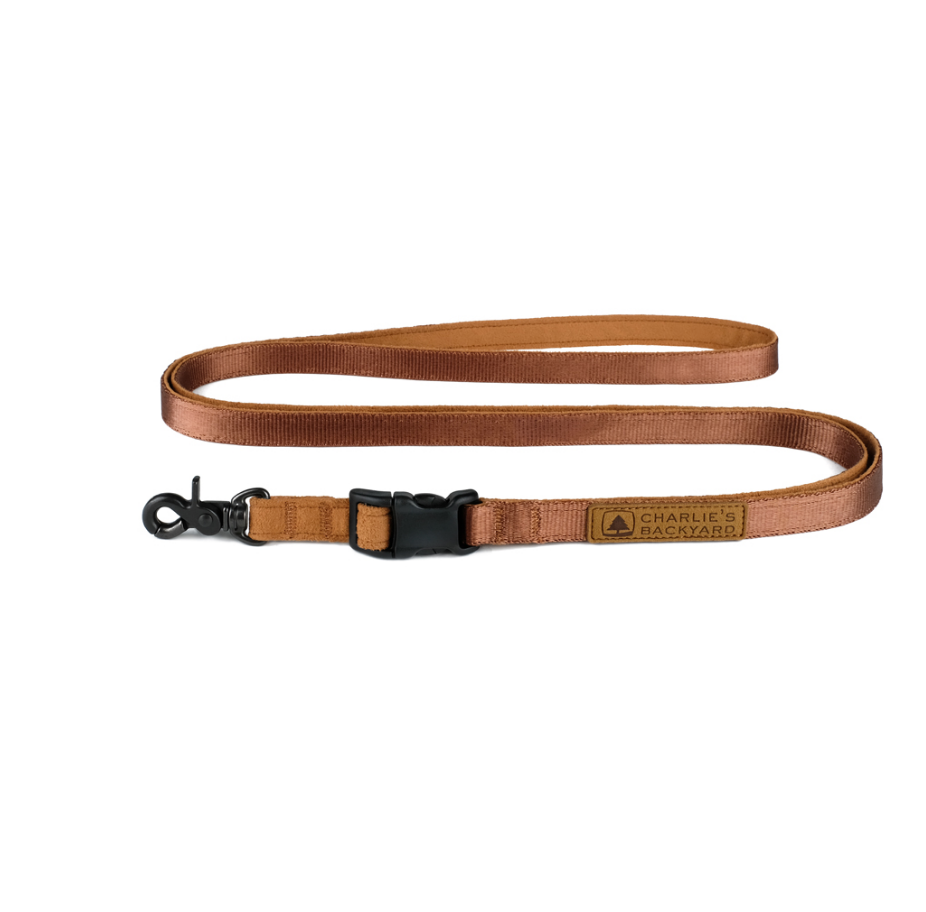 Adjustable Easy Leash in Tan
