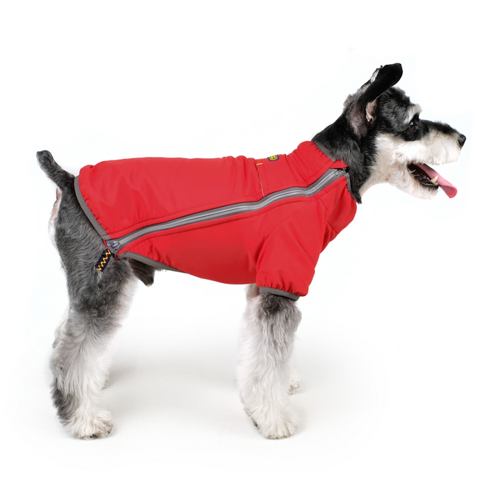 CHARLIE'S BACKYARD | Summit Jacket in Red