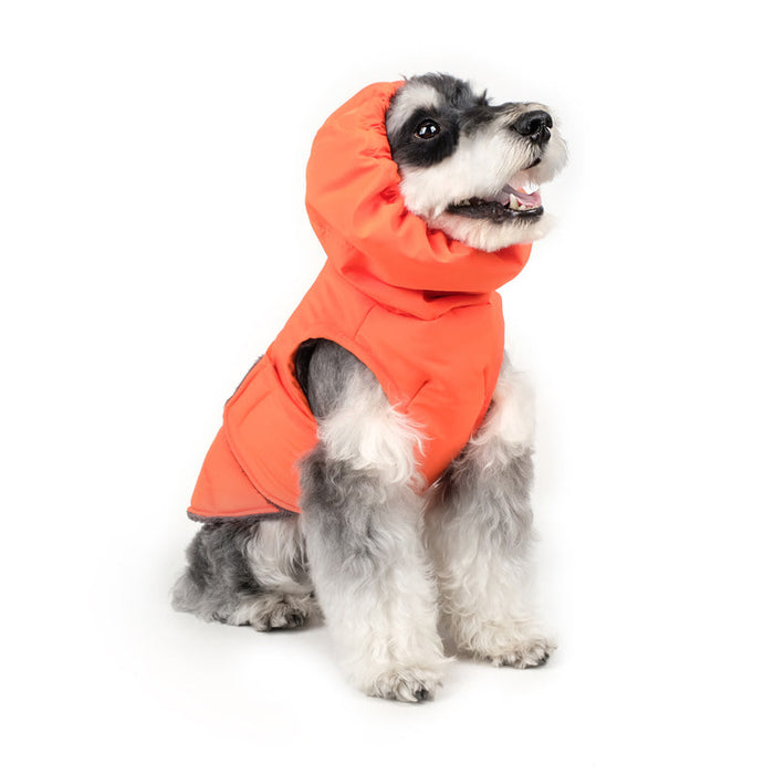 CHARLIE'S BACKYARD | Turtle Padding Jacket in Orange