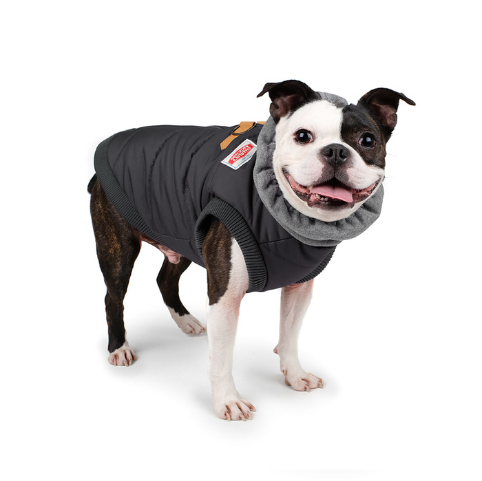 CHARLIE'S BACKYARD | Warm Up Harness Jacket in Black