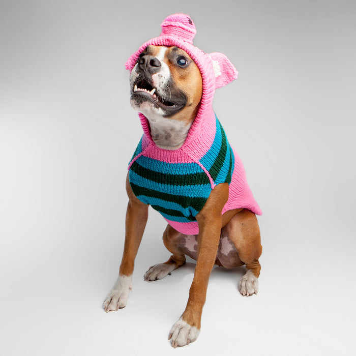 CHILLY DOG | Pink Piggy Hoodie Sweater (BIG DOG SALE)