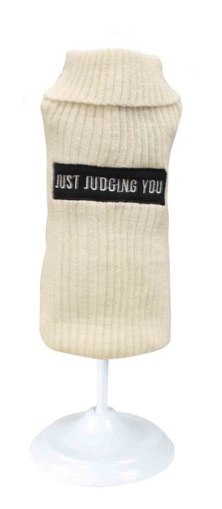 """Judging You"" Cat Sweater"