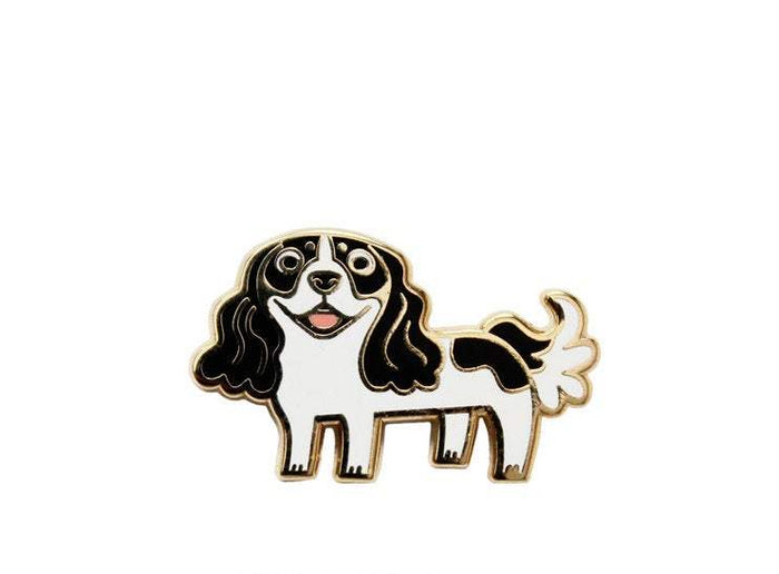 DOGGIE DRAWINGS | Cavalier Spaniel Enamel Pin