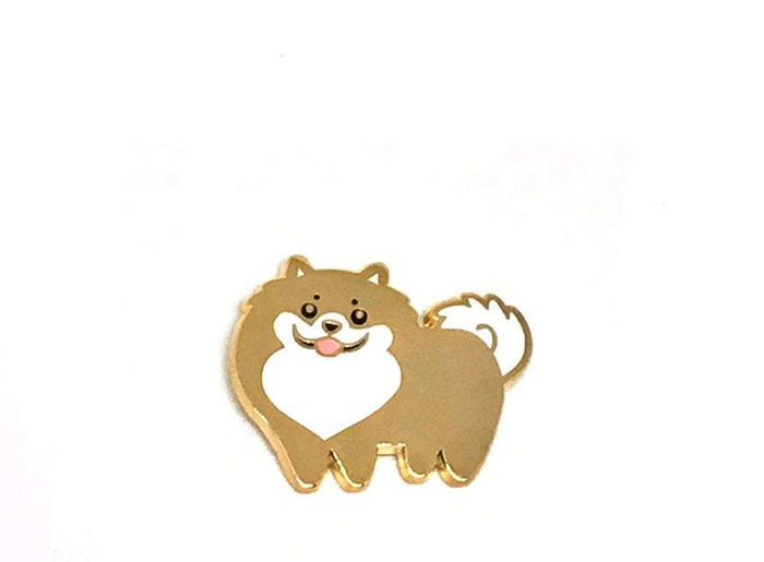 DOGGIE DRAWINGS | Pomeranian Enamel Pin