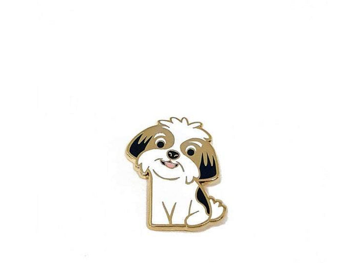 DOGGIE DRAWINGS | Shih Tzu Enamel Pin
