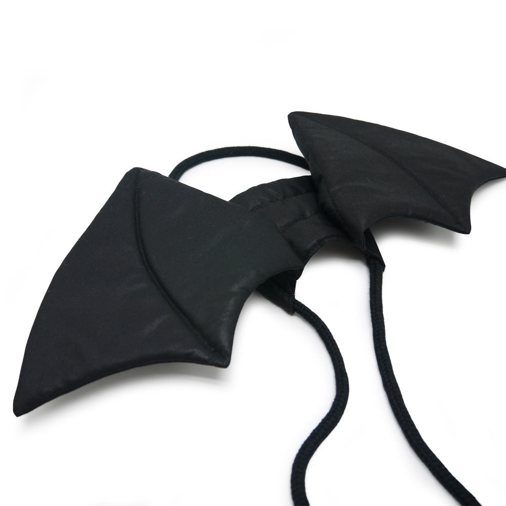 Adjustable Tie-On Bat Dog Wings