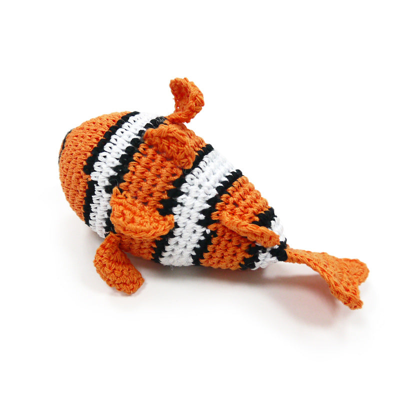 DOGO | Clown Fish Squeaky Toy