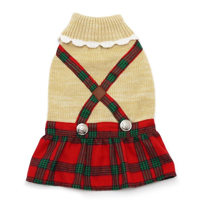 DOGO | Holiday Plaid Dress