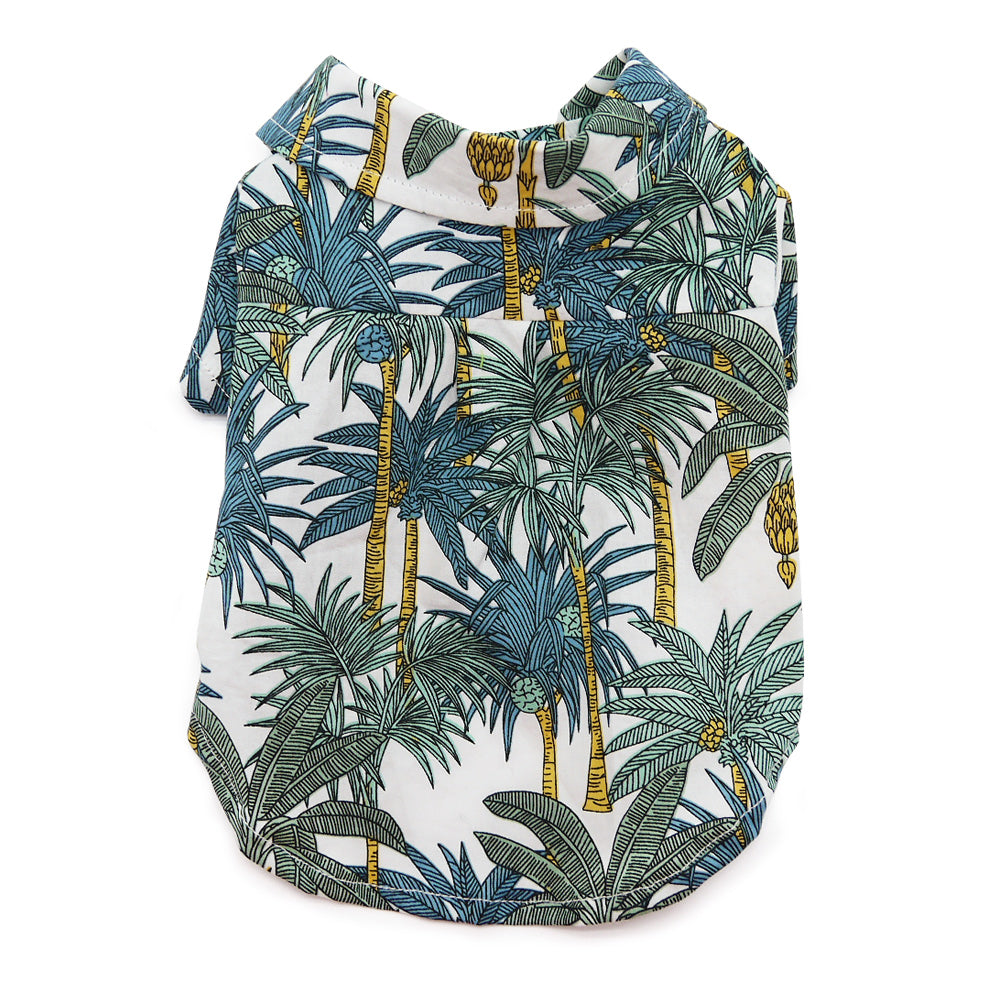 DOGO | Tropical Leaf Shirt