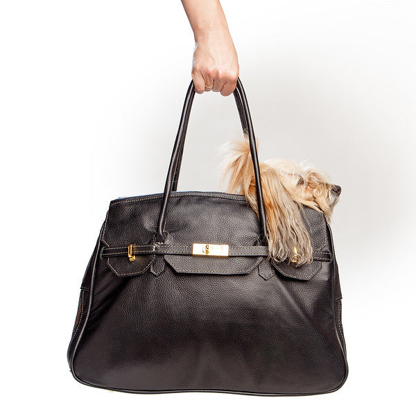 PETOTE | Katie Bag in Black Leather