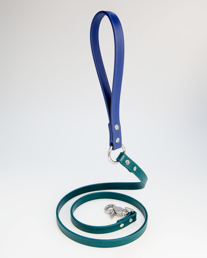 City Leash in Hunter Green + Navy