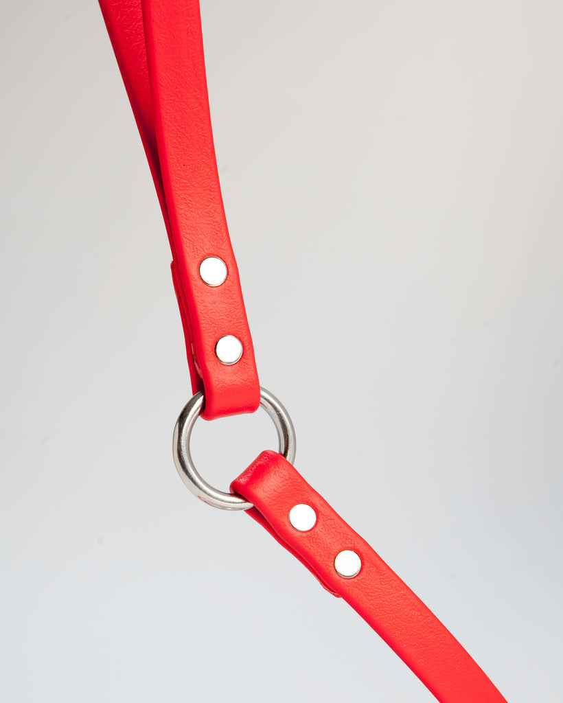 City Leash in Real Red
