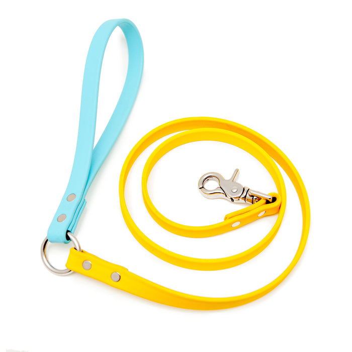 DOG & CO. | City Leash in Yellow and Blue