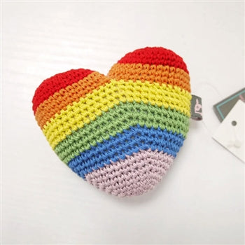 Rainbow Heart Toy (Immediate Ship)