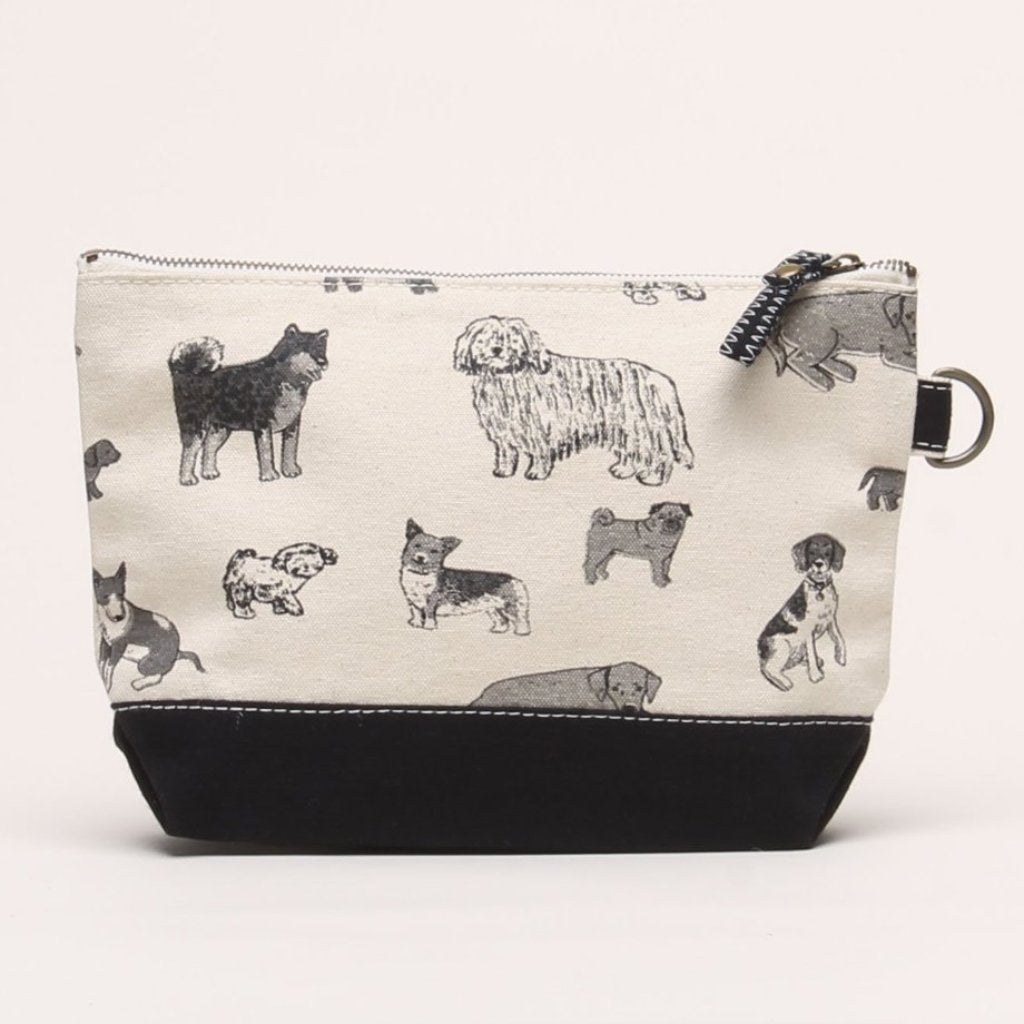SHORE BAGS | Dog Print All Purpose Pouch