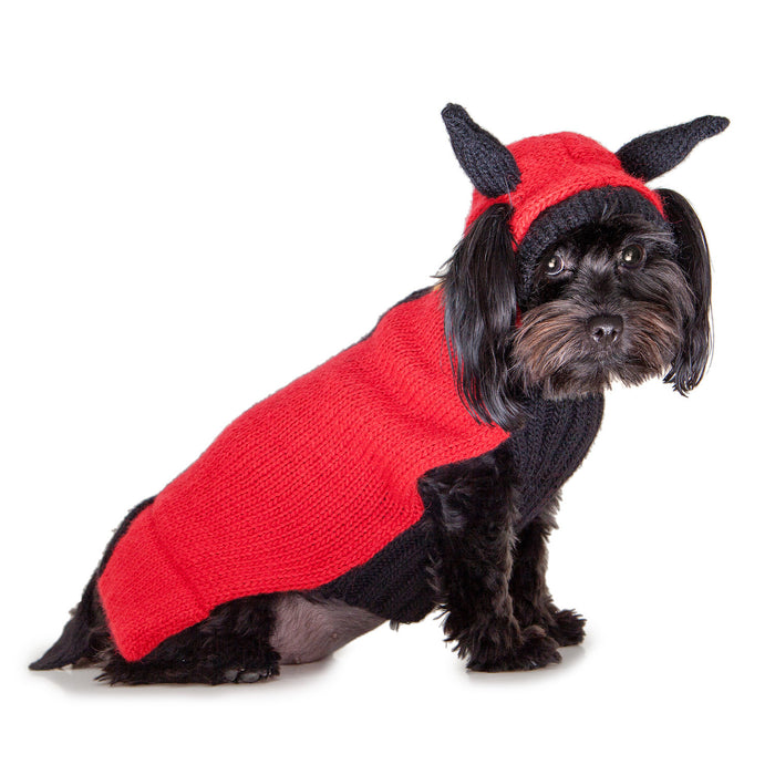 PERUVIAN KNITS | Little Devil Sweater (BIG DOG SALE)