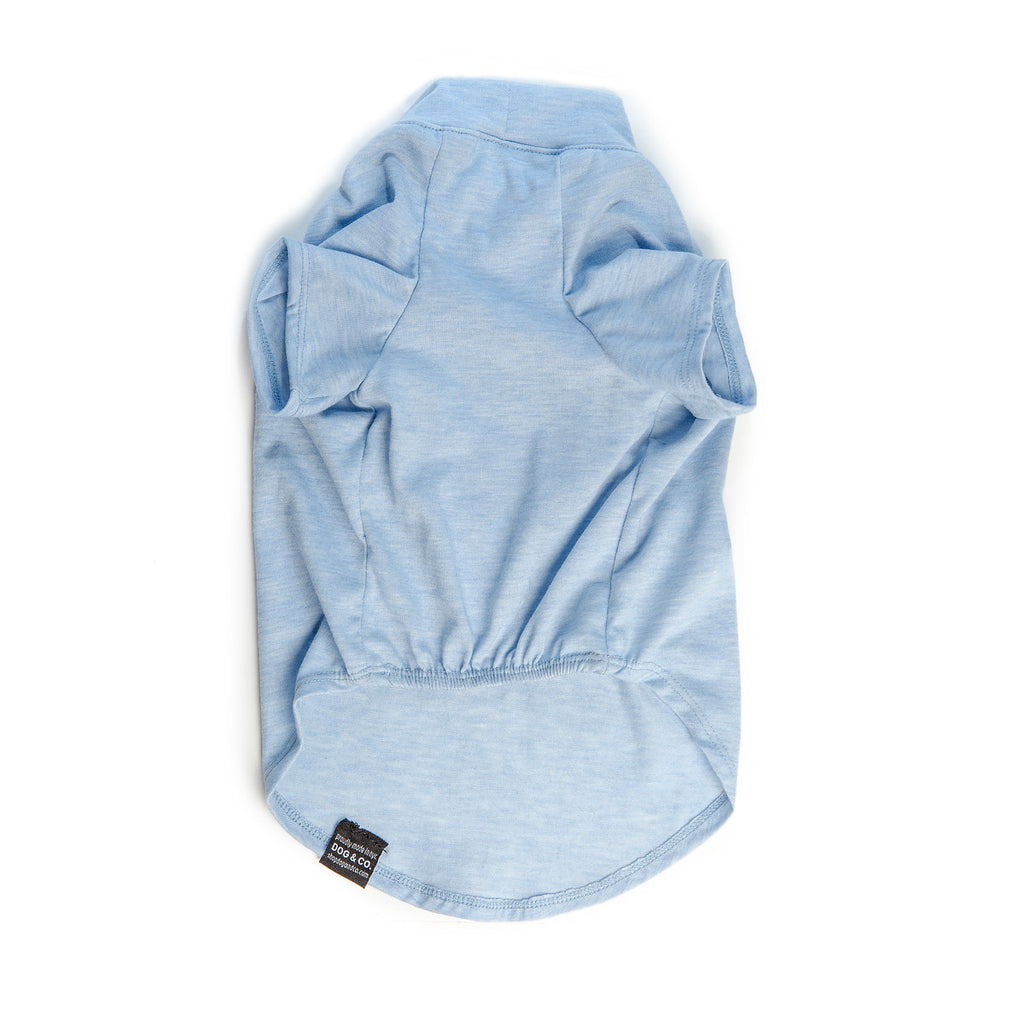 DOG & CO. | Perfect T in Light Blue Stretch