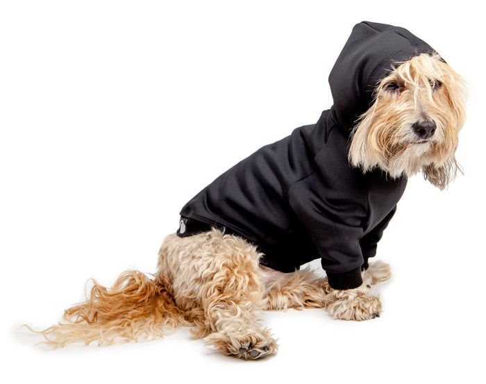 DOG & CO. | Water Resistant Hoodie in Black