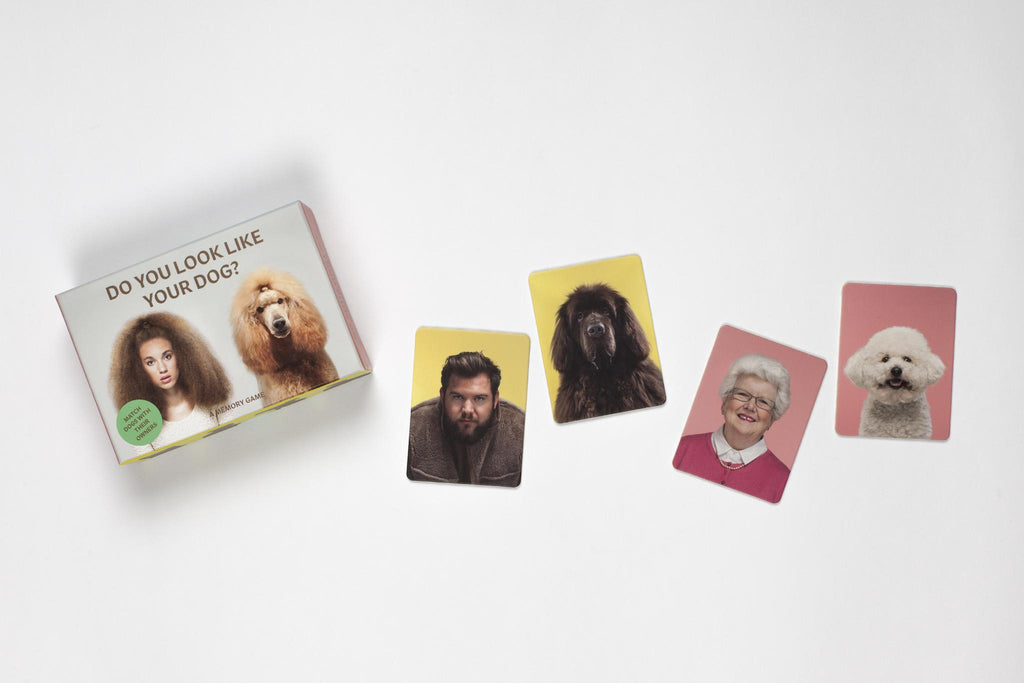 CHRONICLE BOOKS | Do You Look Like Your Dog? Memory Game