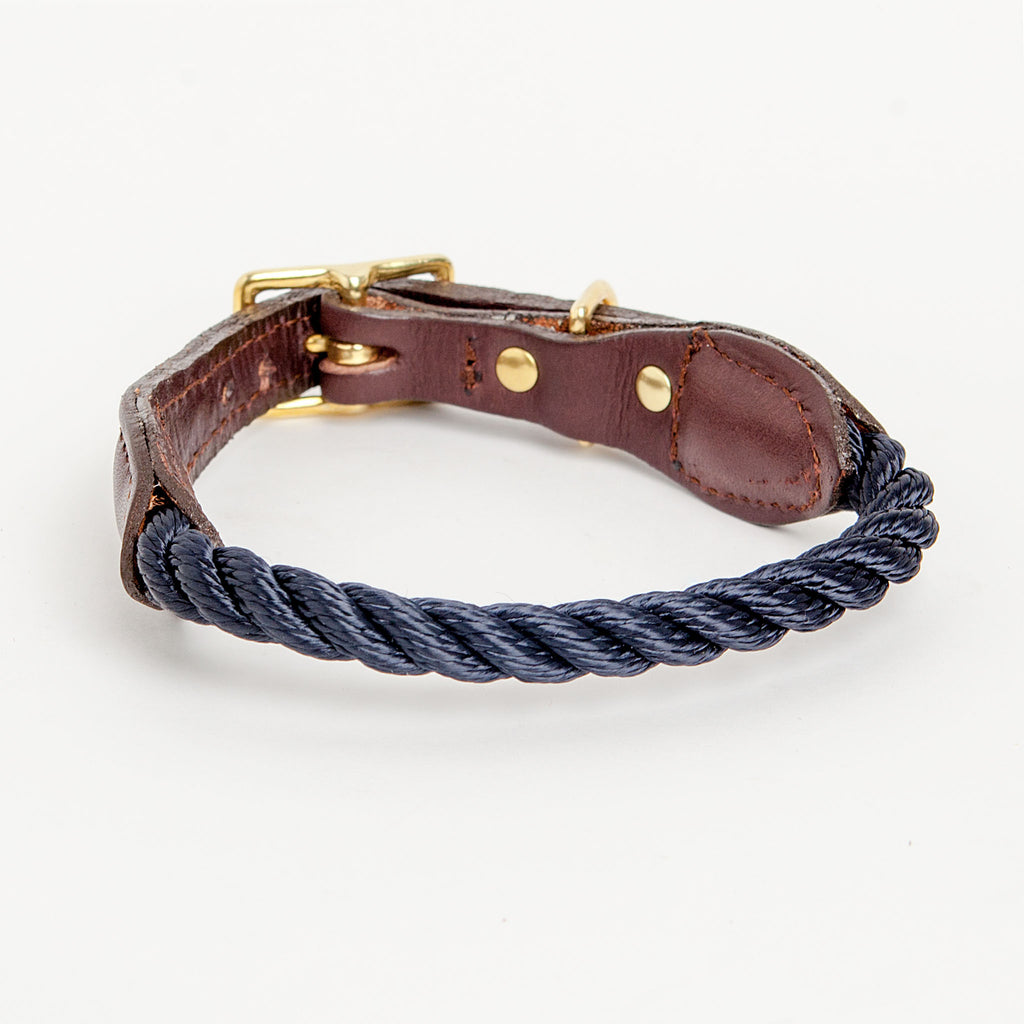 Rope Collar in Navy