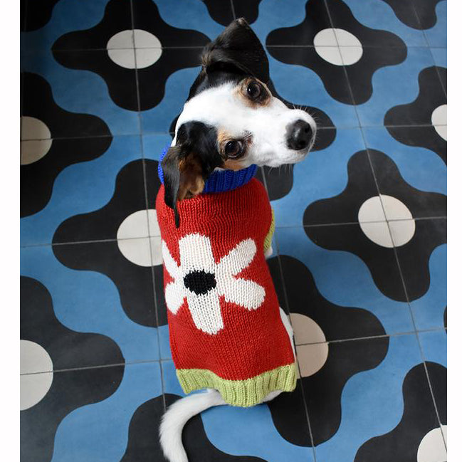DUSEN DUSEN | Flower Dog Sweater