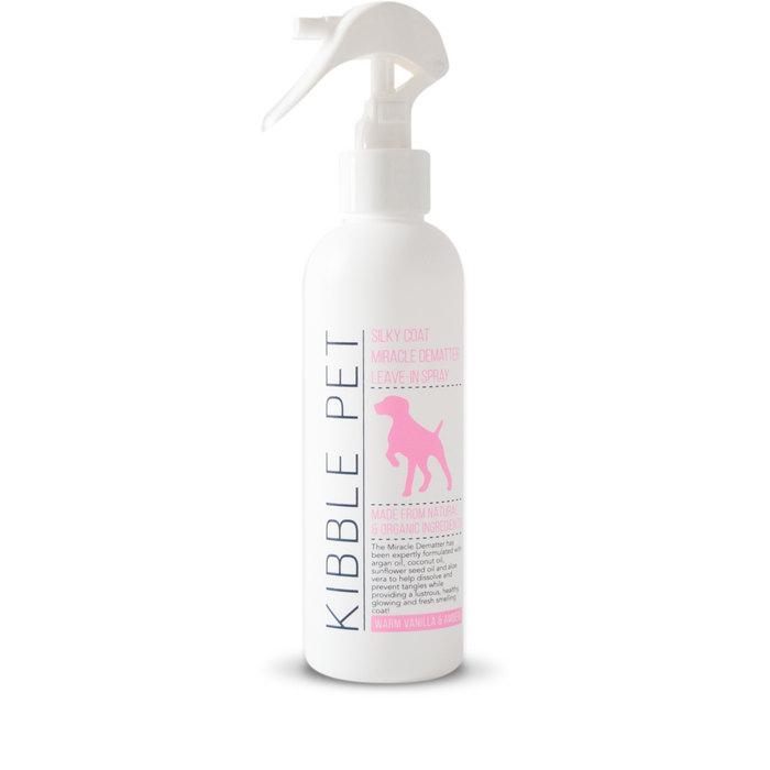 KIBBLE PET | Miracle Dematter Leave-In Spray in Warm Vanilla & Amber