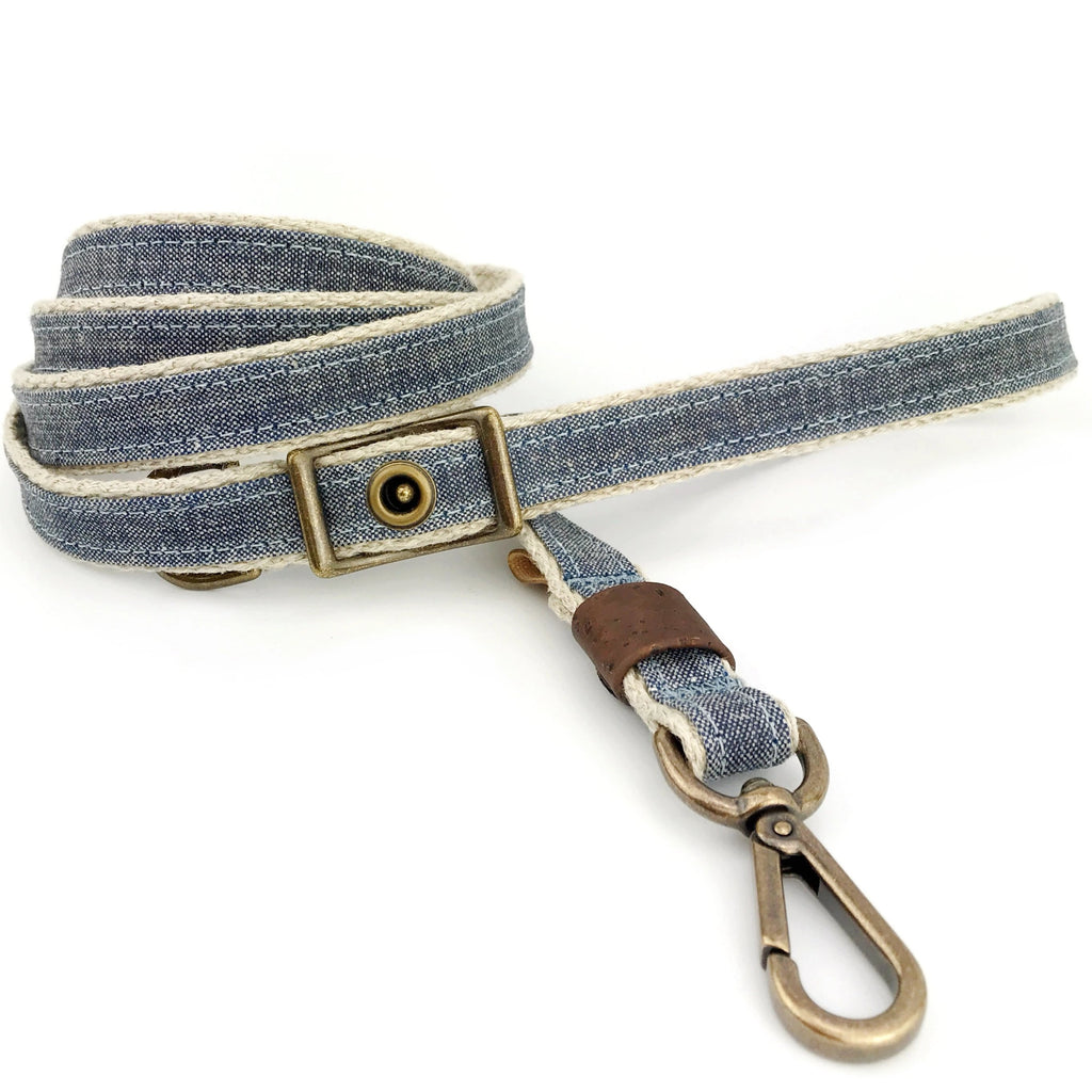 Denim Adjustable Leash (FINAL SALE)