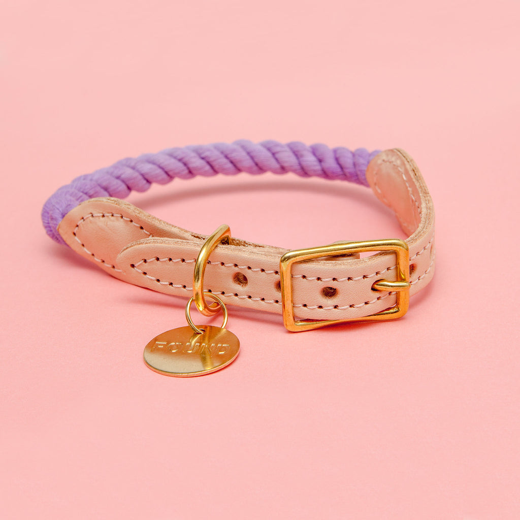 Rope Collar in Wisteria