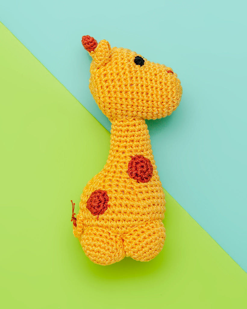 Safari Friends Organic Knit Toy Bundle