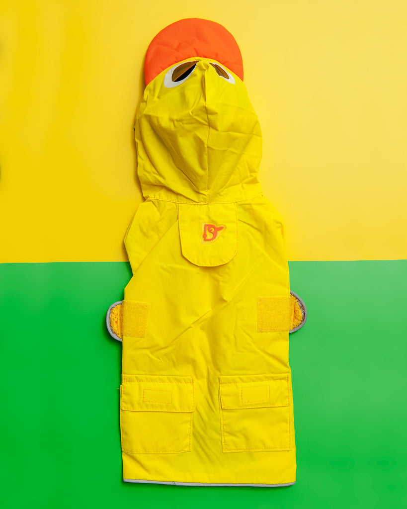 Duck Raincoat in Yellow (Immediate Ship)