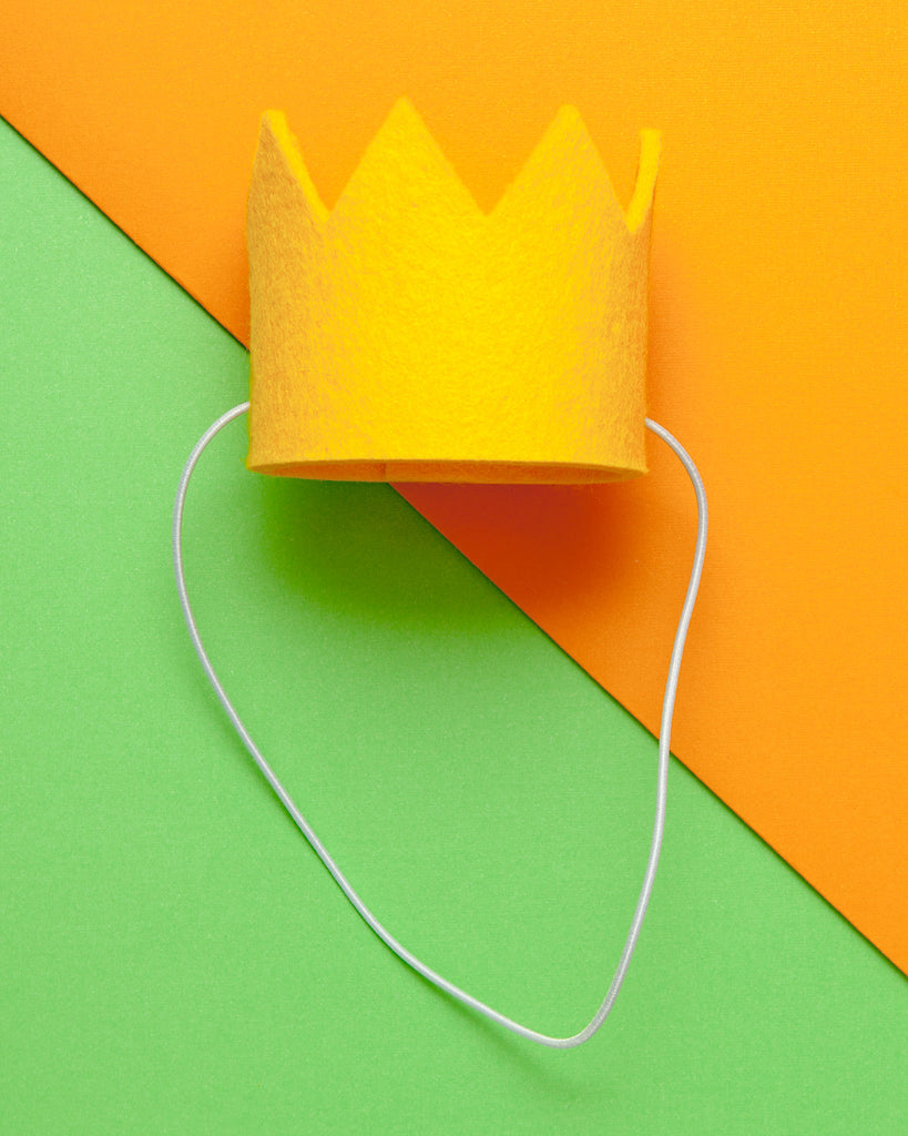 Party Beast Crown in Yellow