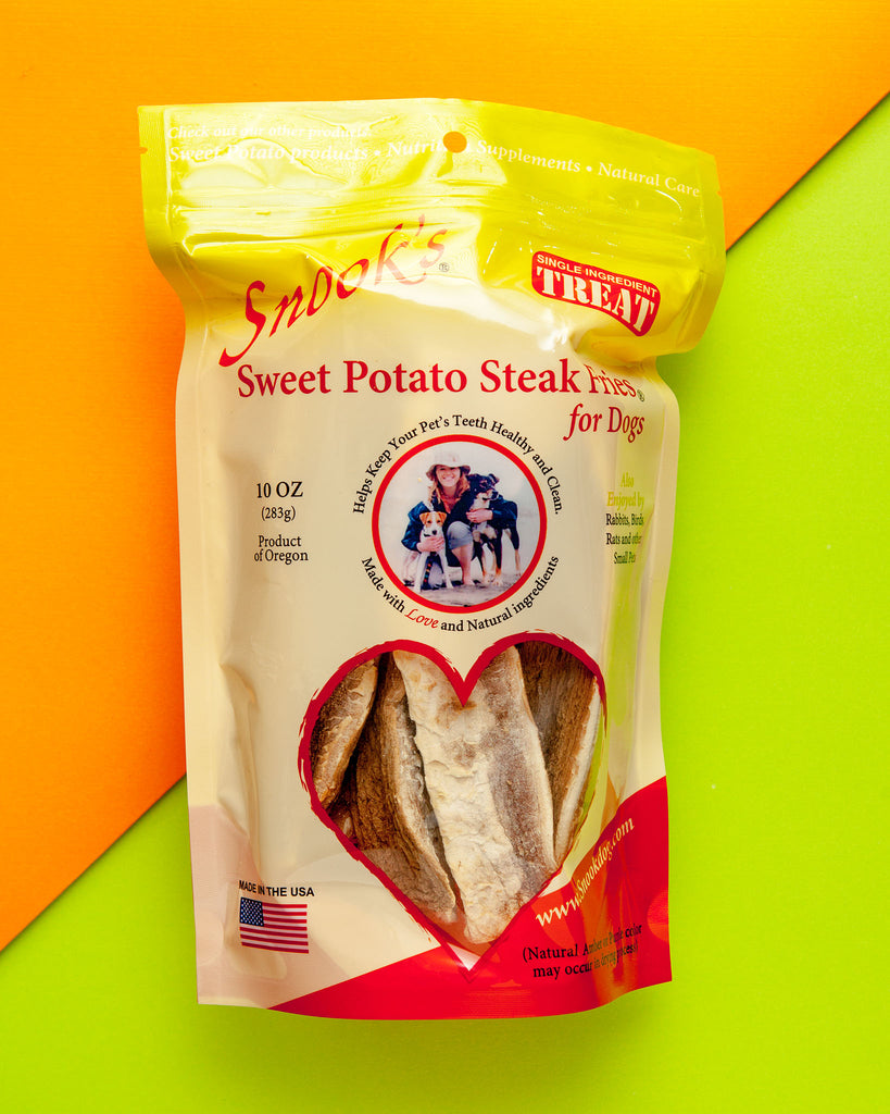 Sweet Potato Steak Fries Dog Chews