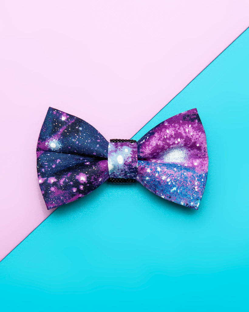 Dog Bow Tie in Galaxy