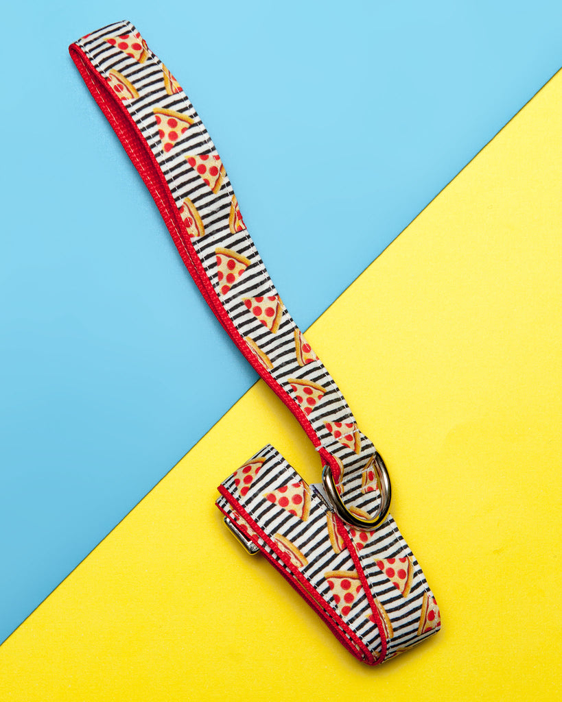 Pizza Print Print Dog Leash
