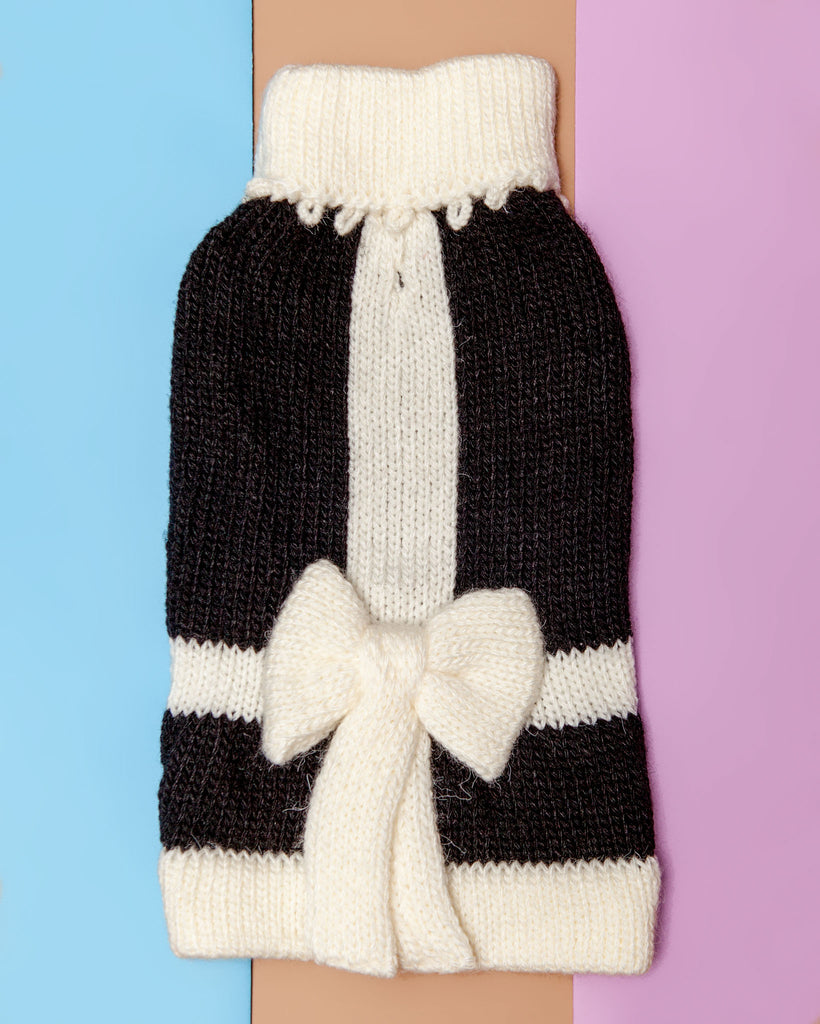 Perfect Present Handknit Dog Sweater