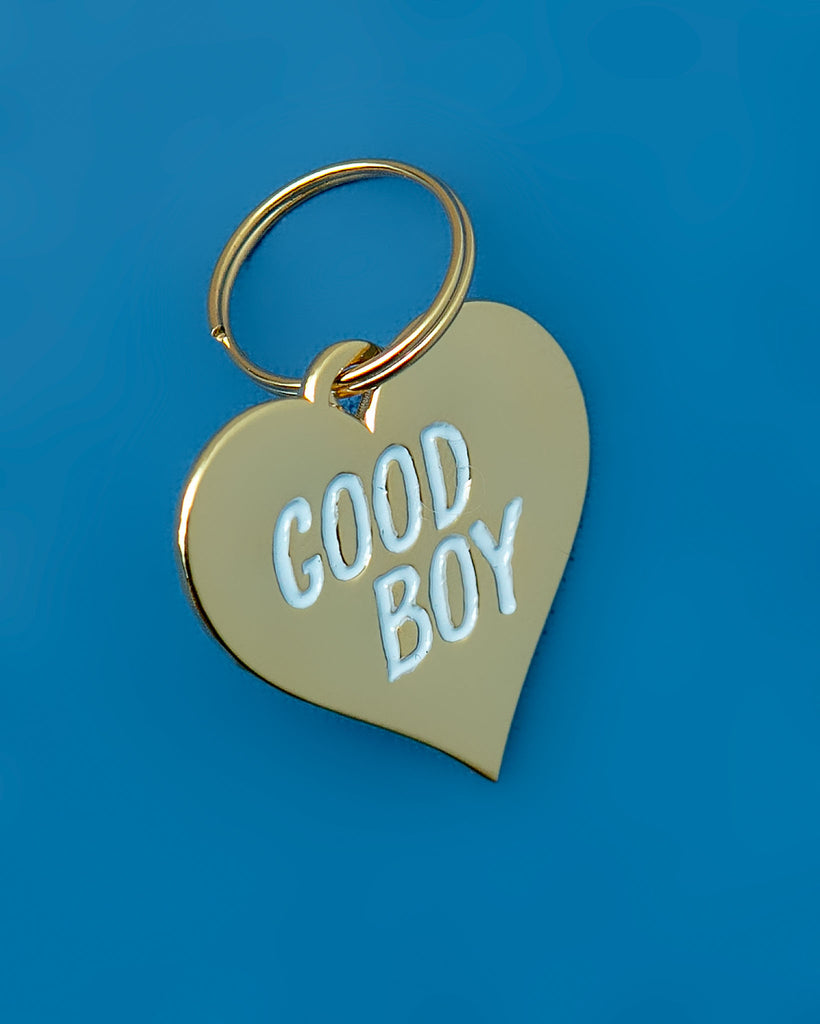 Good Boy Pet Tag