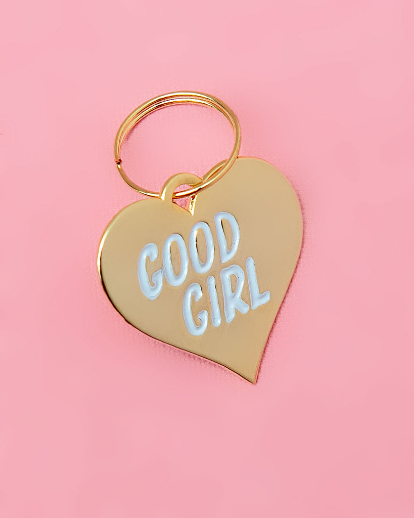 Good Girl Pet Tag