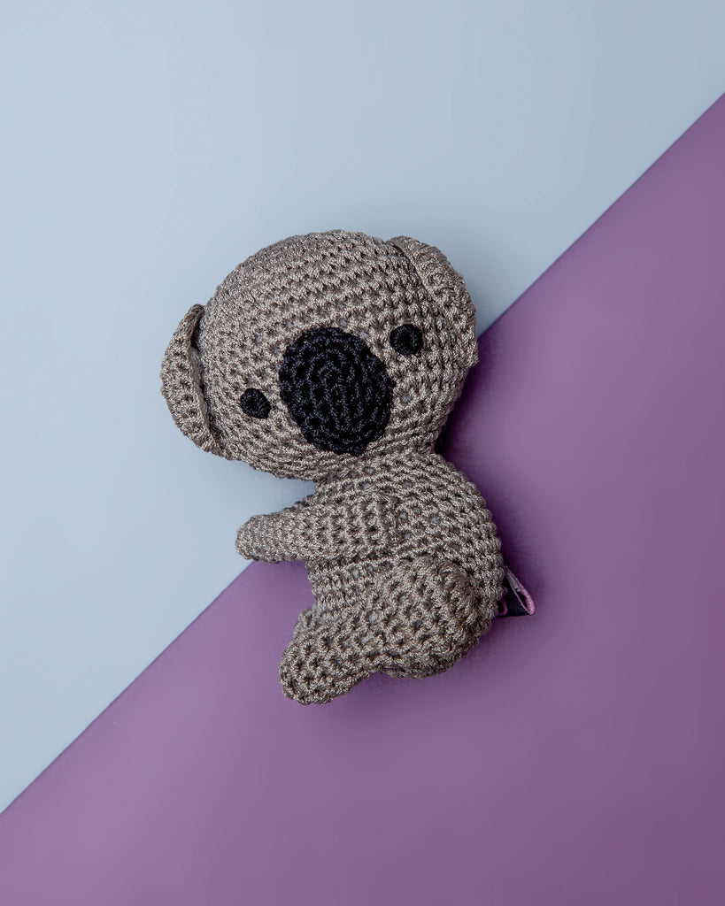 Koala Cotton Knit Dog Toy