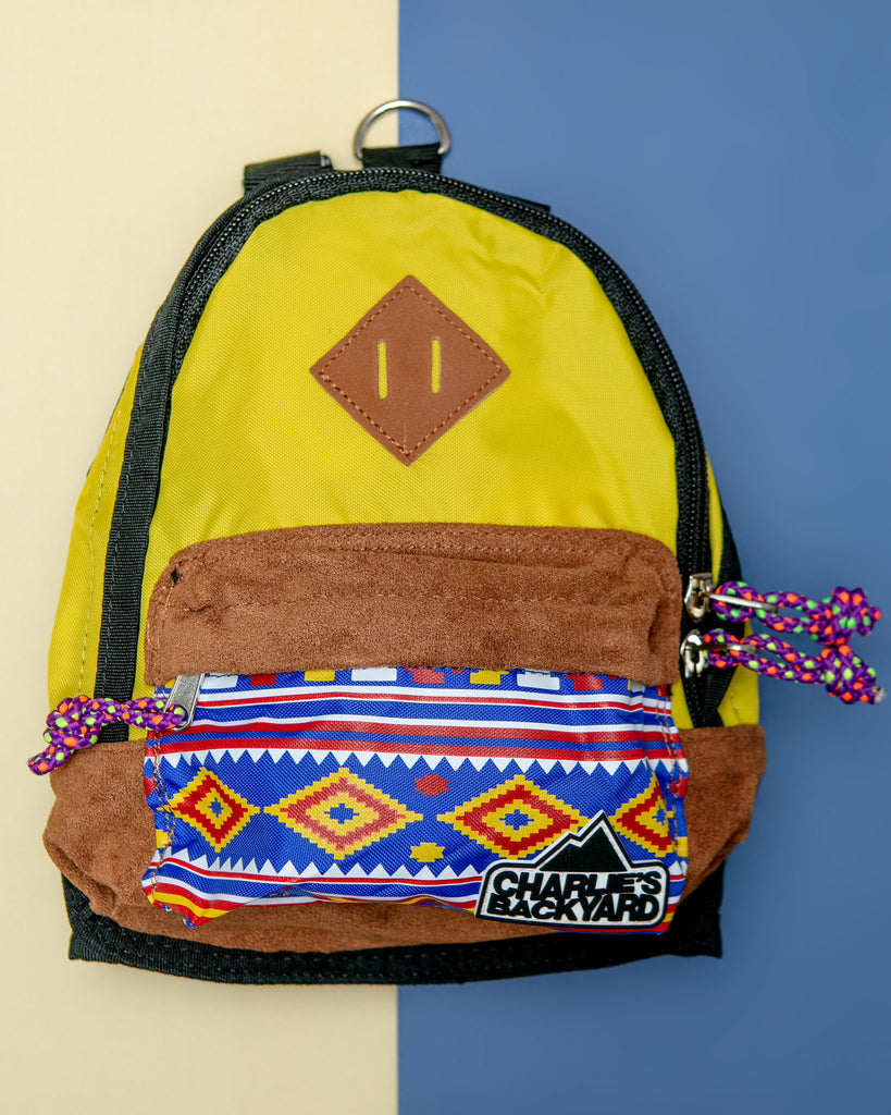 Charlie's Bag Backpack in Yellow