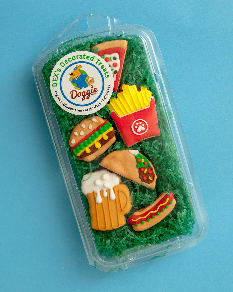 Fast Food Cookie Gift Pack (Immediate Ship)