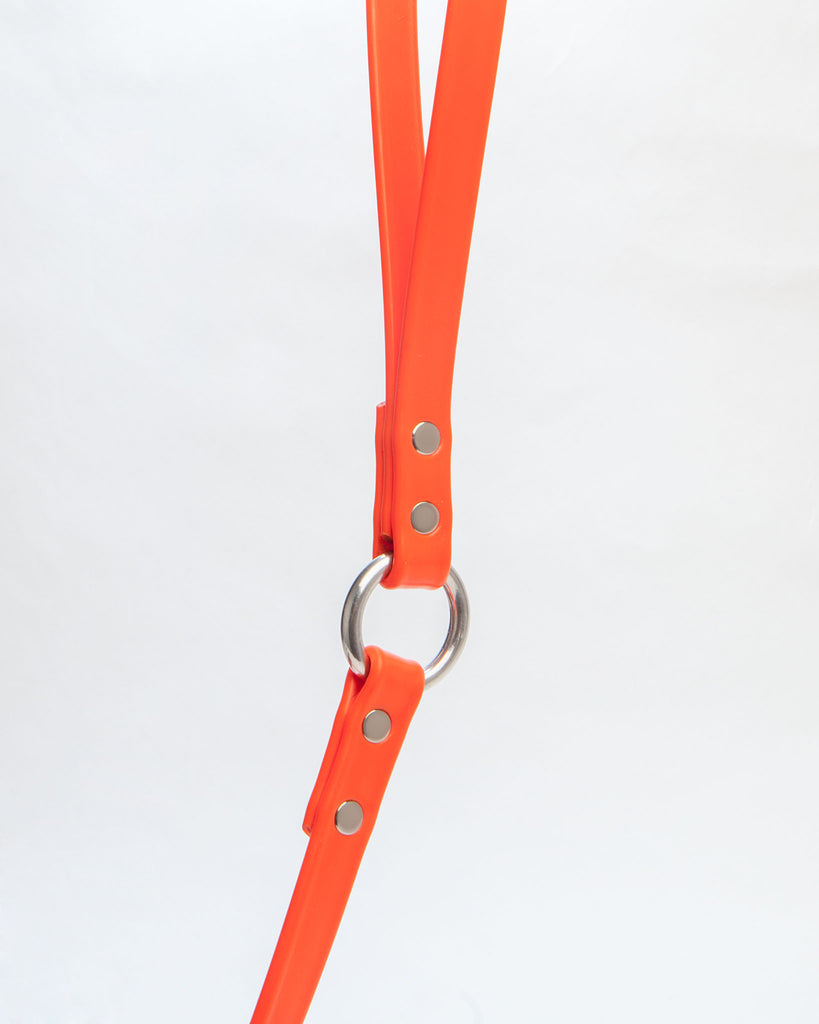City Leash in Neon Orange