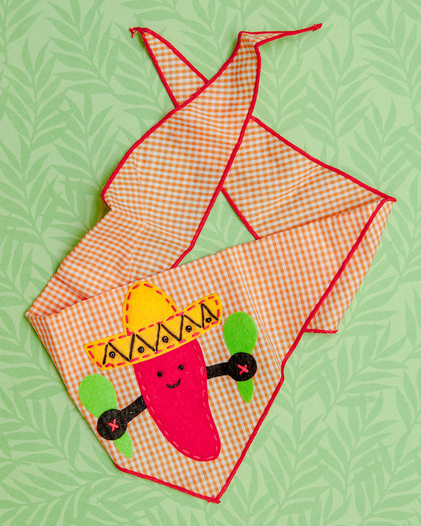 Hot Pepper Bandana (FINAL SALE)